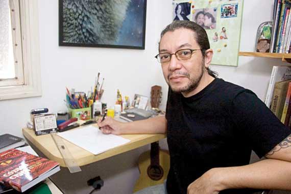 Alexandre Bar celebra mais de 25 anos como ilustrador