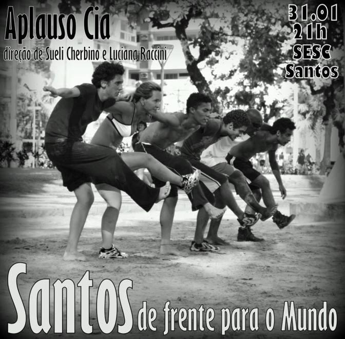 'Santos de Frente para o Mundo' estreia sábado (31) no Sesc Santos