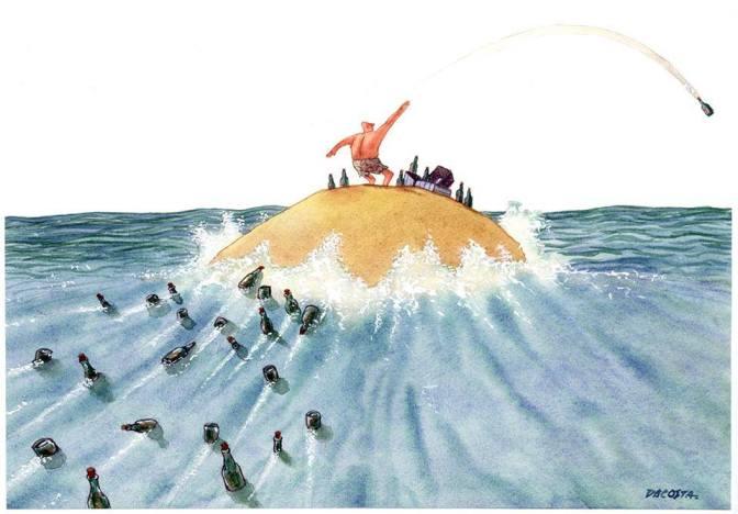 Cartunista DaCosta lança campanha para publicar livro