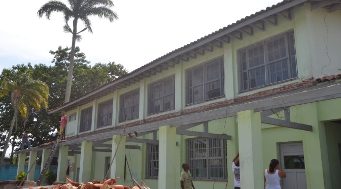 Casa da Música recebe reforma para aprimorar atendimento, em Itanhaém
