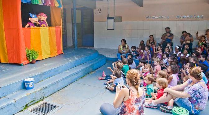 Teatro de fantoches sobre a dengue conscientiza alunos de Limeira