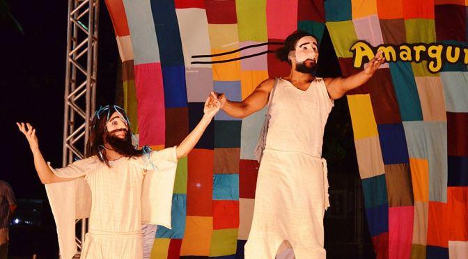'Rua da Amargura' reconta Paixão de Cristo no Parque Vila de SV