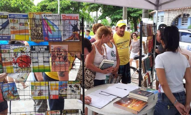 Estação da Cidadania abriga 'Primeira Festa do Livro'