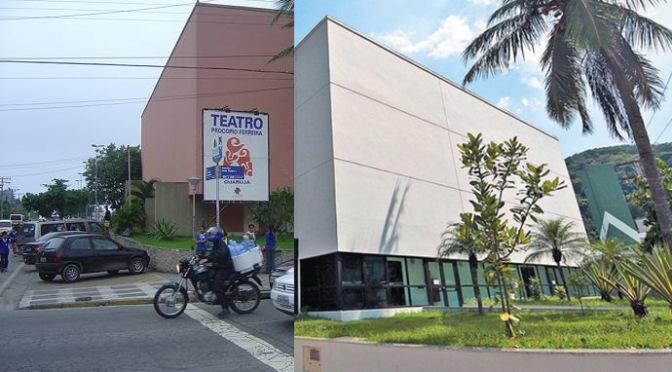 Dia 25 será reinaugurado Teatro Procópio Ferreira de Guarujá