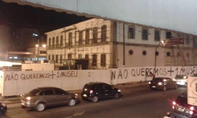 'Vocação da Cadeia Velha está sendo discutida', diz Fabião