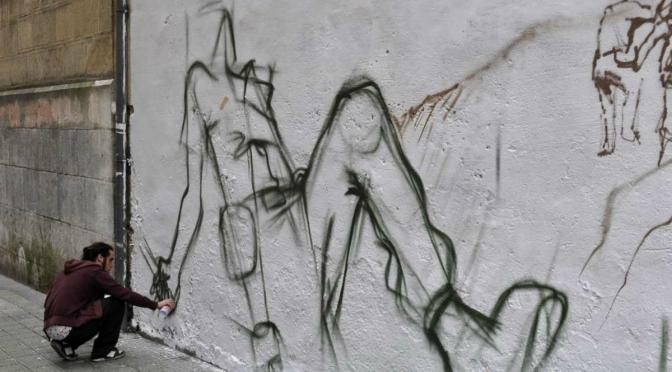 Grafiteiros de São Vicente concorrem a viagem para festival espanhol