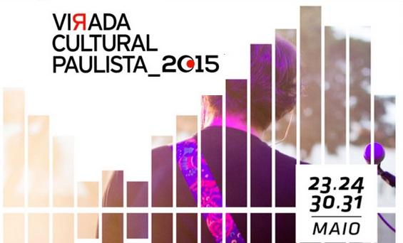 Confira a programação da Virada Cultural Paulista 2015