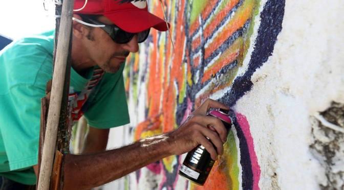 Os caminhos da arte urbana em bate-papo em São Vicente