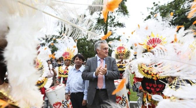 A agenda alterada do Ministro da Cultura em Santos dia 2