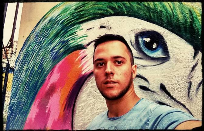 Festival espanhol Beantatuz seleciona o grafiteiro vicentino Daniel Amat