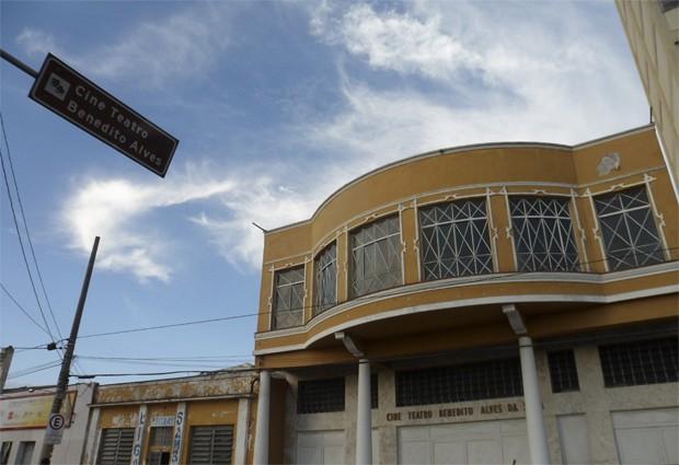 Obras do Cine Teatro Benedito Alves em SJC começam neste sábado