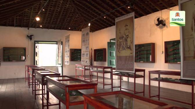 Mostras celebram a Semana Nacional dos Museus em Santos