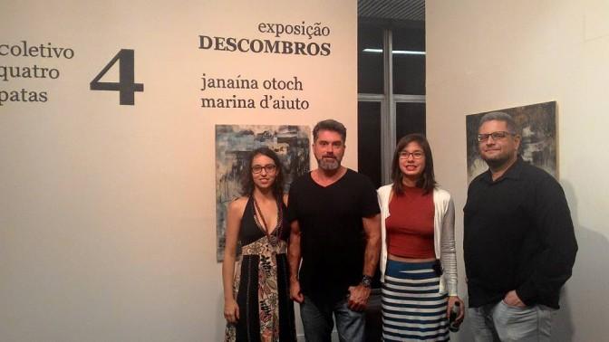 Exposição 'Descombros' é inaugurada na Galeria Braz Cubas