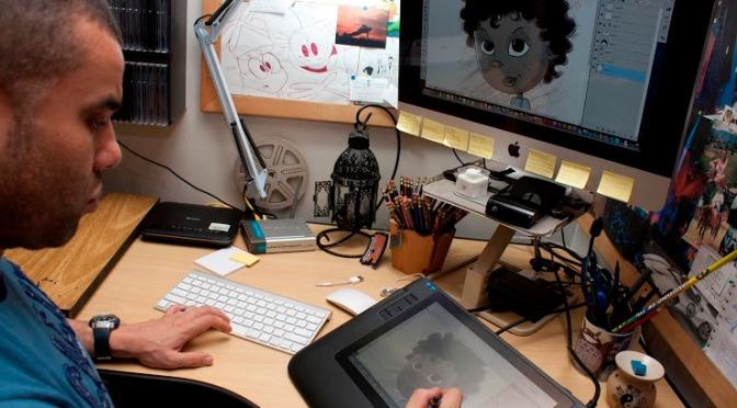 Curso de desenho animado gratuito no Sesc Santos com Daniel Pudles