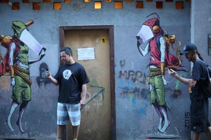Após festival espanhol, grafiteiros vão a bate-papo em São Vicente