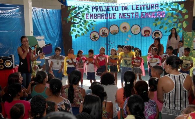 Projeto escolar de Itanhaém incentiva a leitura em parceria com os pais
