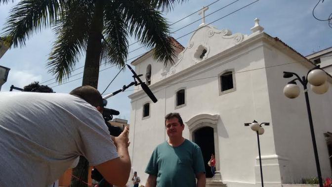 'Padre Paulo, 90 anos' será gravado em São Vicente