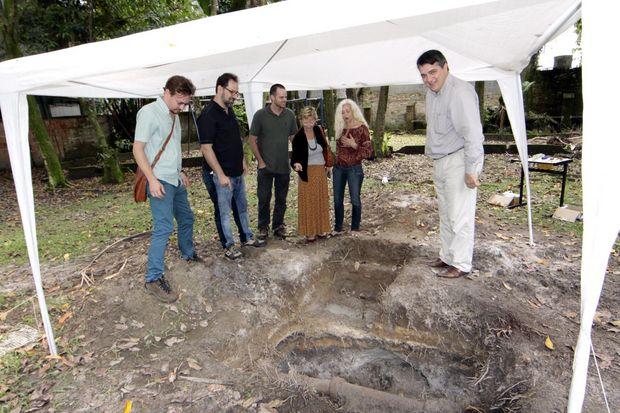 Jardim do IHGSV pode ser sítio arqueológico