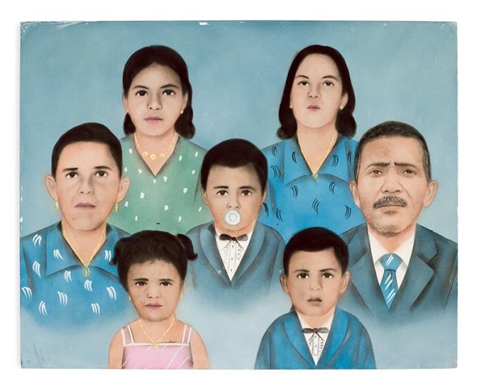 'Fotopinturas' de Titus Riedl está em exposição em Santos