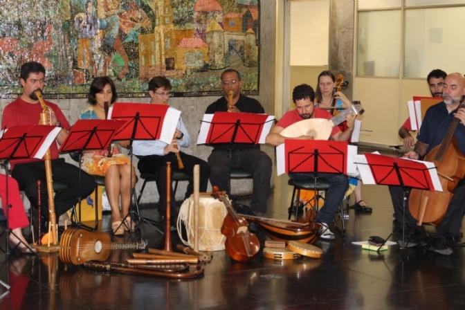Grupo Rinascita de Música Antiga se apresenta na Pinacoteca de Santos