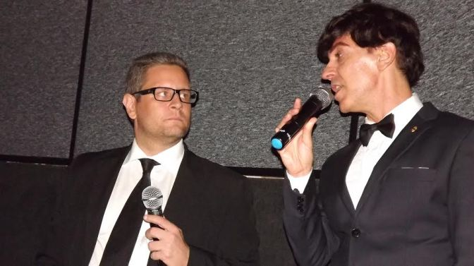 Palestra do Oscar e Oscar ao vivo no Cine Roxy