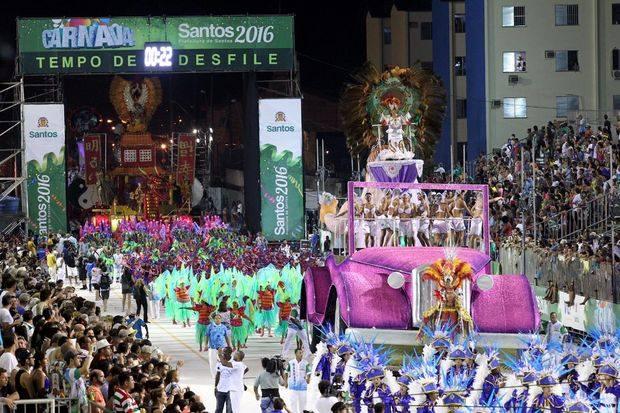 Unidos dos Morros é a campeã do Carnaval de Santos