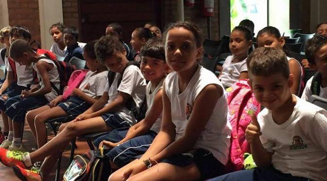 Arte no Dique integra o projeto Escola Total