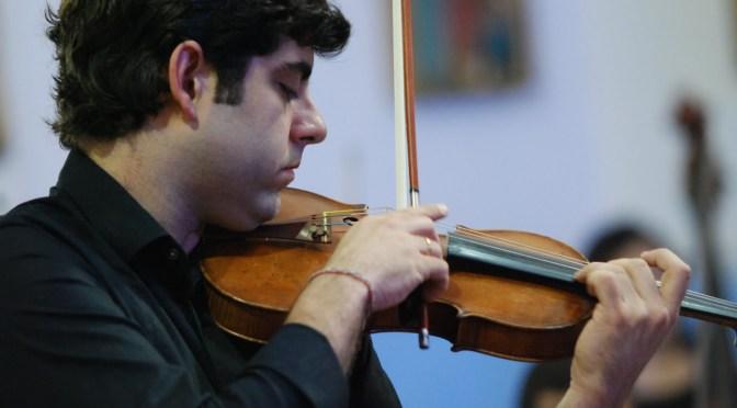 OSMS recebe o violonista Daniel Guedes em concerto no Teatro Coliseu