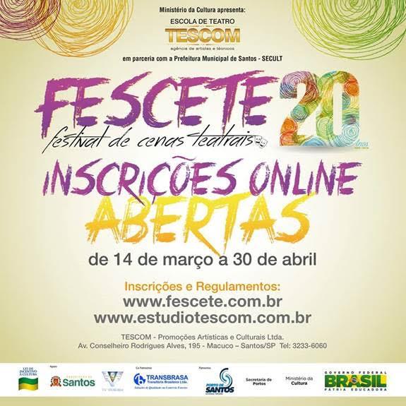Fescete – 20 Anos realiza concurso de poesias para estudantes da Região