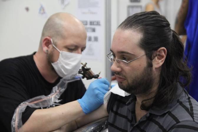 1º Tattoo Festival de SV reúne público de 2 mil pessoas