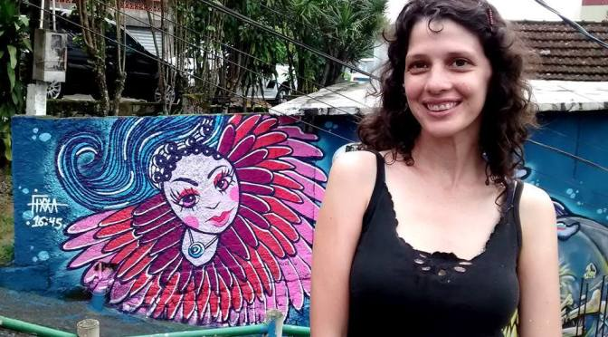Fixxa representa Baixada Santista em festival de grafite na Espanha