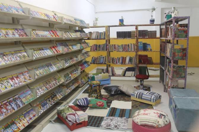 Em Guarujá, Escola Benedito Claúdio passa a contar com biblioteca e gibiteca
