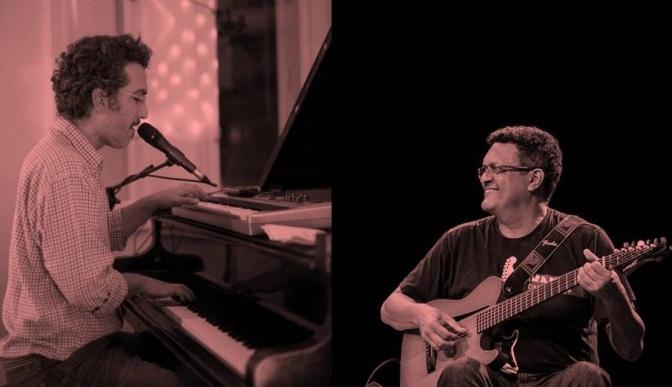 Corisco Mix recebe show de Marcelo Amazonas e Luiz Claudio de Santos