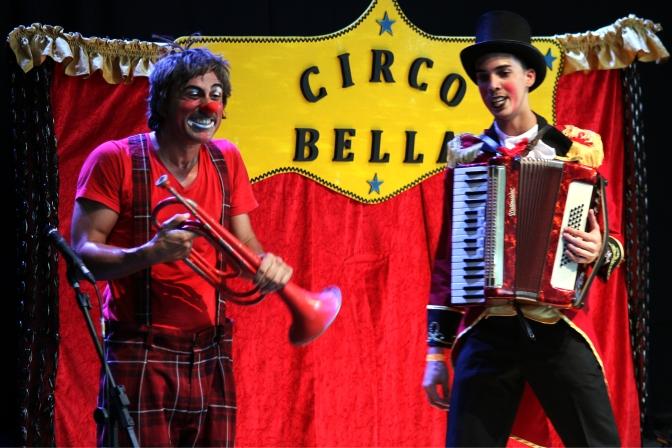 Praça Narciso de Andrade recebe espetáculo circense neste sábado