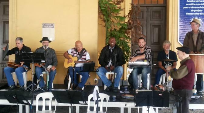 Ouro Verde celebra os 9 anos do projeto Chorinho no Aquário