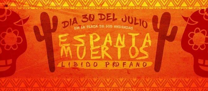 Tem festa 'Espanta Muertos – Libido Profano' na Praça dos Andradas