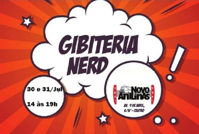 2ª edição da Gibiteria Nerd será neste fim de semana em Cubatão