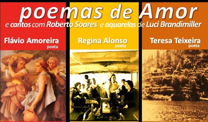 Café Rolidei recebe 'Poemas de Amor' neste domingo