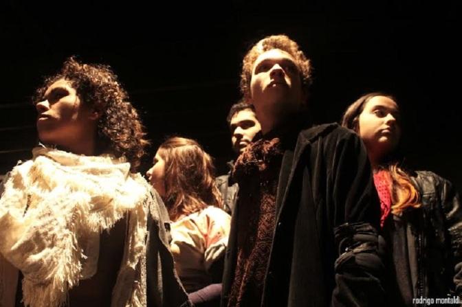 Estreia 'Meu Deus…', teatro que aborda o mundo atual do hedonismo à intolerância