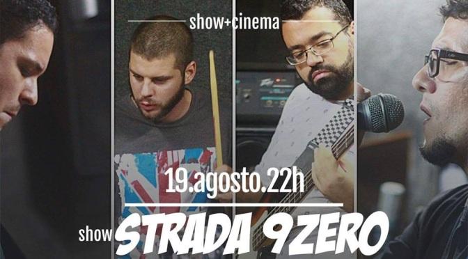 Casarão Santa Cruz recebe show de Strada9Zero e mostra de curtas