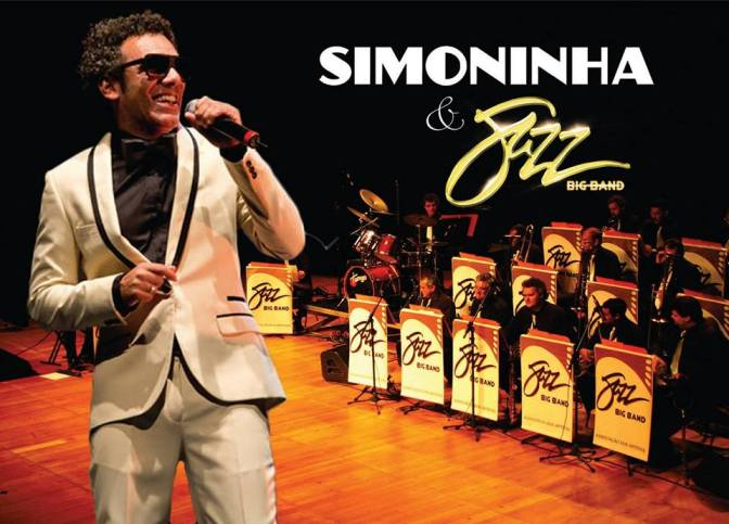 Show nesta quinta com Simoninha e Jazz Big Band na Fonte do Sapo