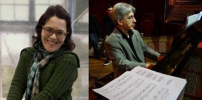 'Duo a BEC' reúne músicos cubatenses na Pinacoteca de Santos