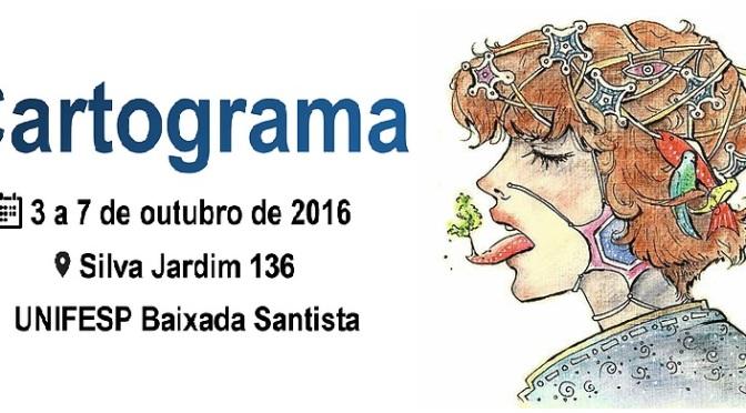 Unifesp de Santos realiza nesta semana o Cartograma 2016; confira programação