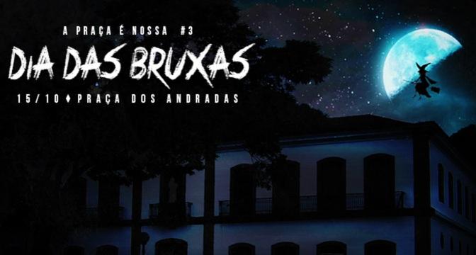 Dia das Bruxas é o mote da nova festa d'A Praça é Nossa dia 15