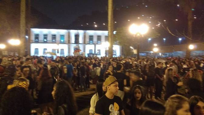 """Ocupação cultural: """"A gente precisa resistir, porque a Praça é Nossa"""""""