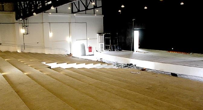 Construção de Anfiteatro de Itanhaém avança nova etapa