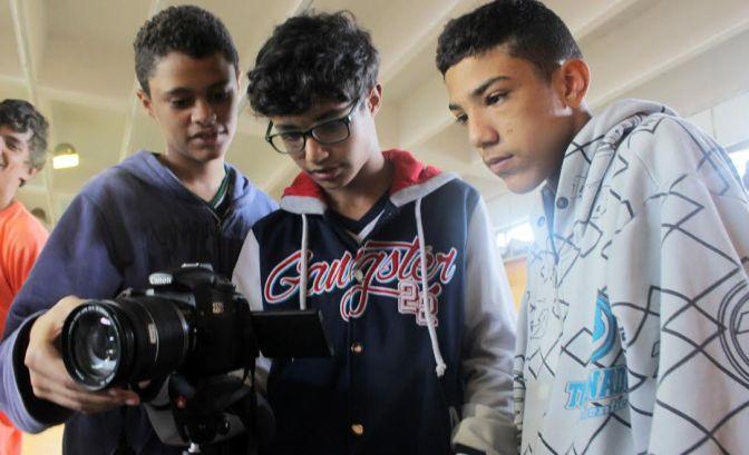 Minimetragens do Querô na Escola concorrem a prêmio de Voto Popular pela web