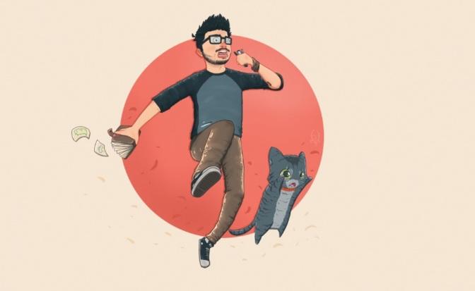 Gibiteca de Santos expõe 'monstrinhos' do ilustrador Augusto Passos