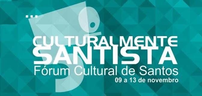 Secretários de Cultura da região debatem no Sesc Santos nesta quinta