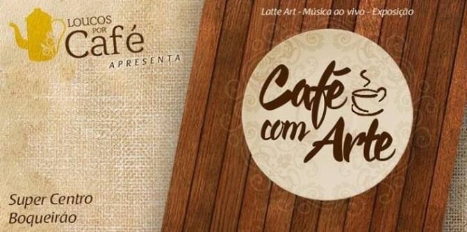 'Café com Arte' é dica de tarde agradável no Super Centro Boqueirão dia 19